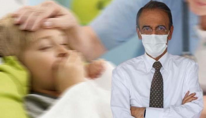 'Çocuklarda koronavirüs tedavisinde hiç ilaç kullanmadık' (VİDEO)