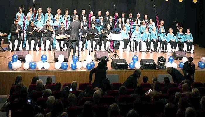 Demli Sesler Korosu'ndan yeni yıl konseri