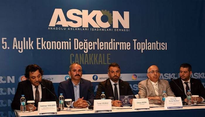AnadoluAslanları İşadamları Derneği Ekonomiyi Çanakkale'de Değerlendirdi (VİDEO)
