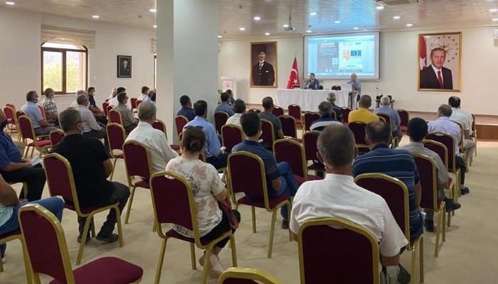 Yenice'de muhtar eğitim semineri düzenlendi