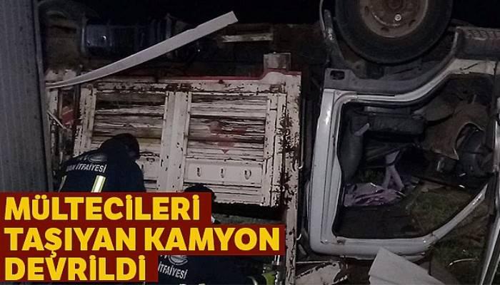Van'da mültecileri taşıyan kamyon devrildi: Çok sayıda ölü ve yaralı var