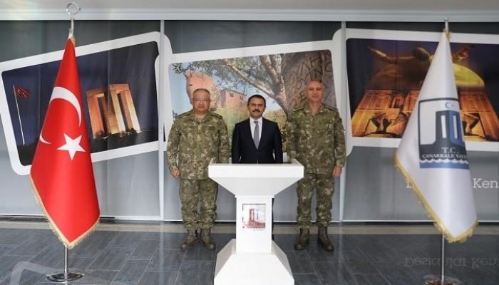 1. Ordu Komutanı Yeni'den Valilik Ziyareti