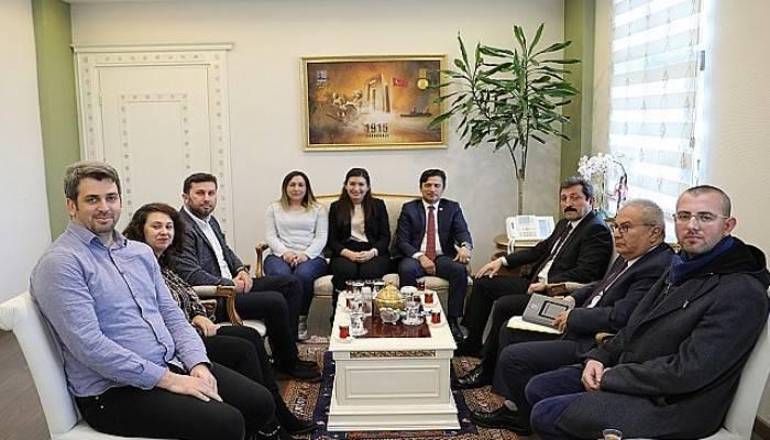 Vali Tavlı, Türk Sağlık-Sen yönetimini kabul etti