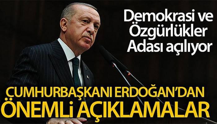 Cumhurbaşkanı Erdoğan: 'İdam sehpasına gönderilen milli iradeydi'