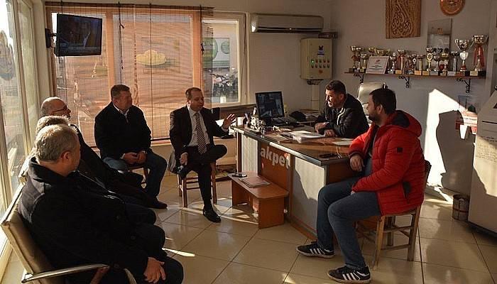 ÇTB, Bayramiç'teki üyelerini ziyaret etti