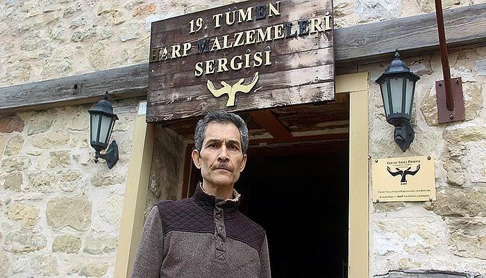 İmamın savaş objeleri merakı, köye müze kazandırdı (VİDEO)