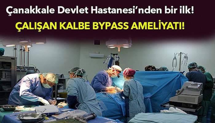 Çalışan kalbe BYPASS ameliyatı!