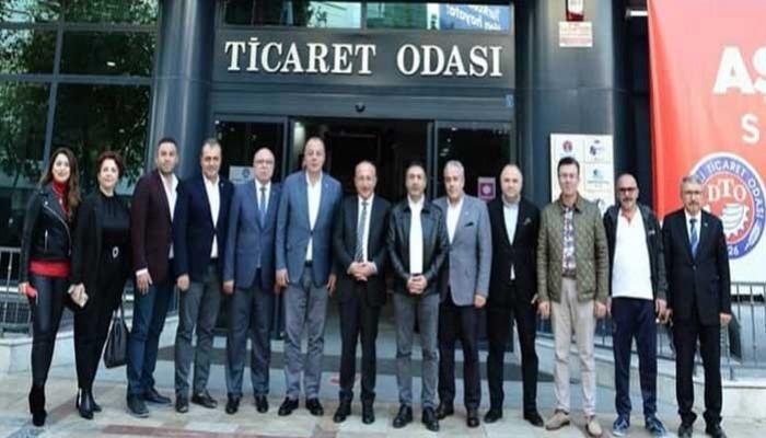 ÇTB ve ÇTSO heyetinden Denizli'de resmi temaslar