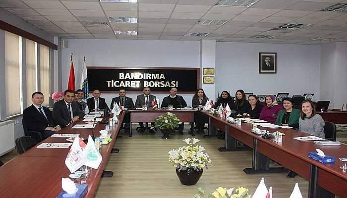 Ticaret Borsaları Laboratuar Çalışanları İstişare Toplantısı yapıldı