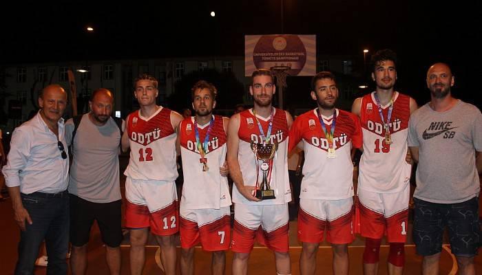 3X3 basketbol şampiyonları belli oldu