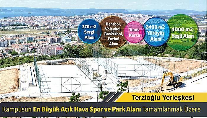 Açık Hava Spor ve Park Alanı Tamamlanmak Üzere