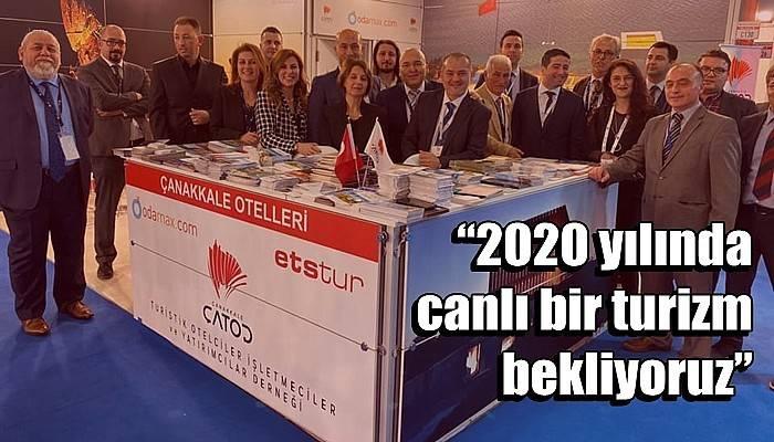 """""""2020 yılında canlı bir turizm bekliyoruz"""""""