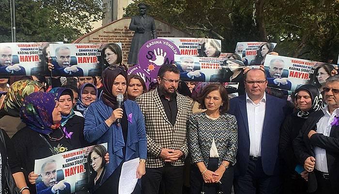 AK Partili kadınlardan Ülgür Gökhan'a tepki (VİDEO)