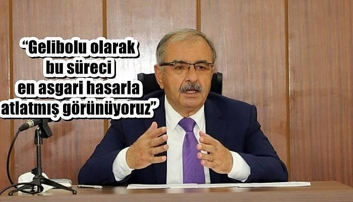 Gelibolu Belediye Başkanı Özacar açıklamalarda bulundu