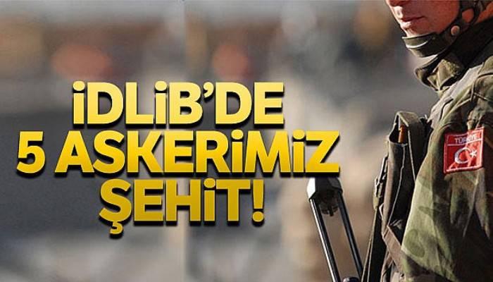 Esad rejimi Türk askerlerine saldırdı
