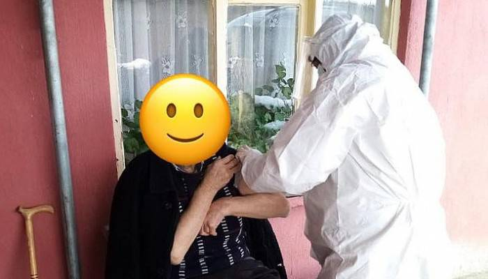 Yenice'de 110 Vatandaşa Koronavirüs Aşısı Yapıldı