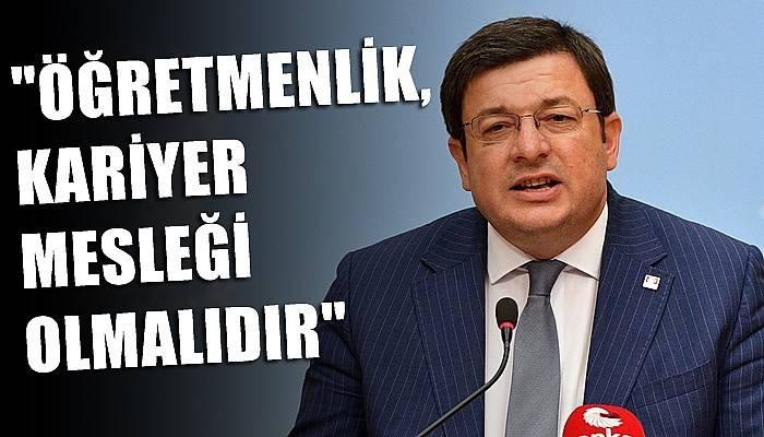 CHPli Erkek'ten 24 Kasım Öğretmenler Günü mesajı