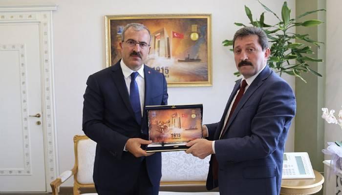 Kütahya Valisi Ömer Toraman'dan Vali Tavlı 'ya ziyaret