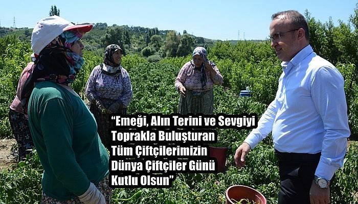 Turan ve İskenderoğlu'ndan Dünya Çiftçiler Günü Mesajı