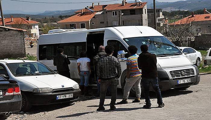 48 mülteci yakalandı (VİDEO)