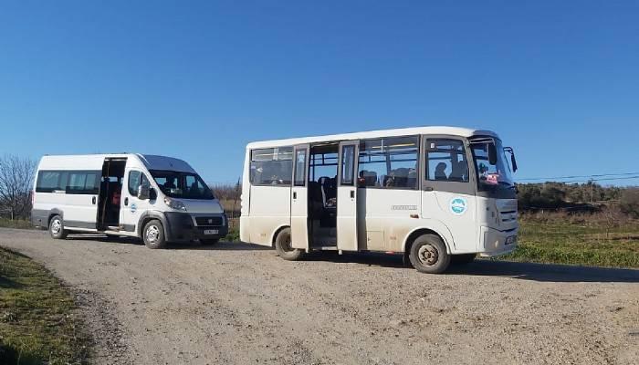 Jandarma Trafik Timleri öğrenci servislerini denetledi