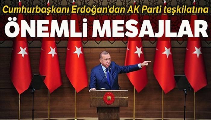 Cumhurbaşkanı Erdoğan büyükşehir ve il belediye başkanları ile bir araya geldi