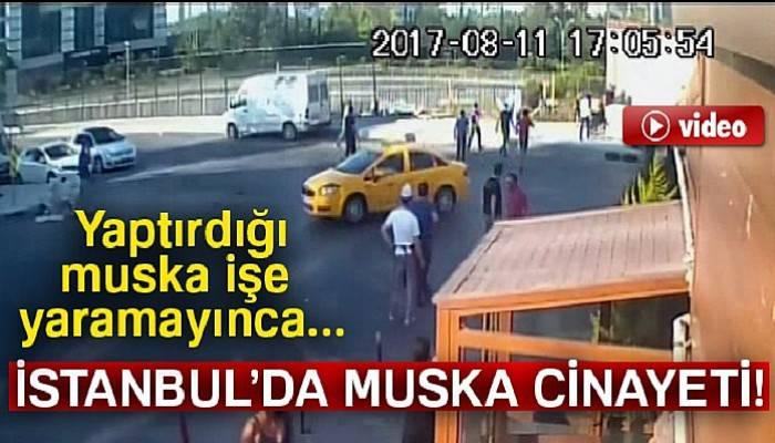 İstanbul'da dehşet anları
