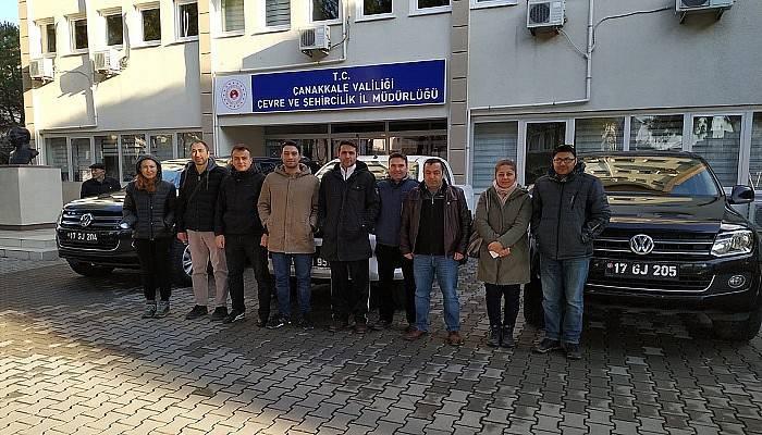 Çevre ve Şehircilik İl Müdürlüğü'nden Elazığ'a destek