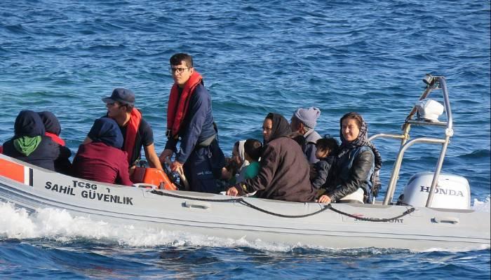 Çanakkale'de 242 mülteci yakalandı (VİDEO)