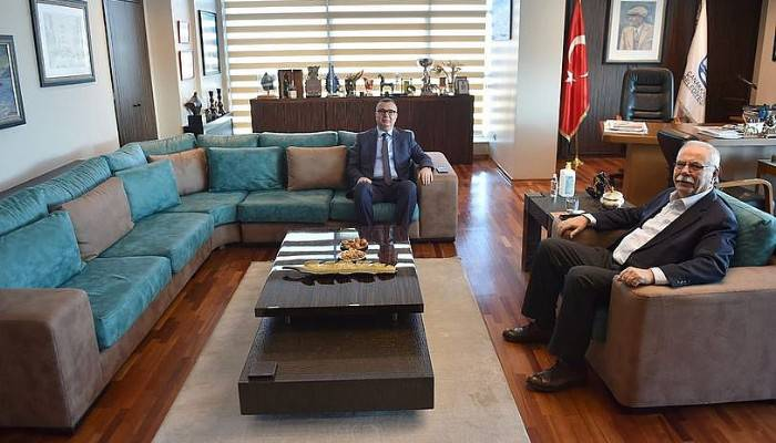 Arslan'dan Başkan Gökhan'a ziyaret