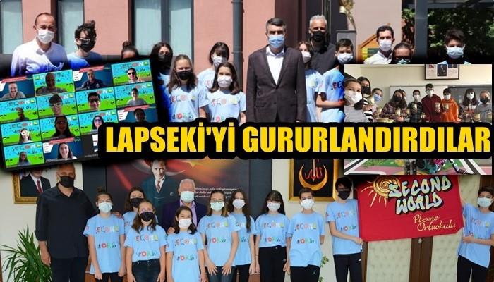 Lapseki'yi gururlandırdılar!