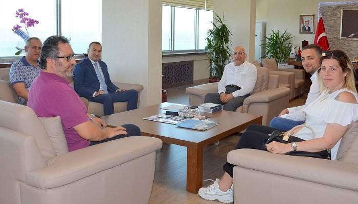 Baro Başkanı Şarlan'dan Rektör Murat'a Ziyaret