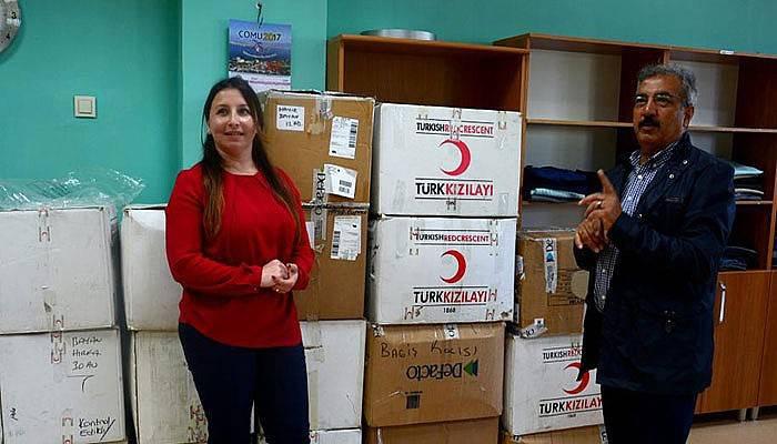 Kızılay'dan ÇOMÜ Butik'e büyük bağış