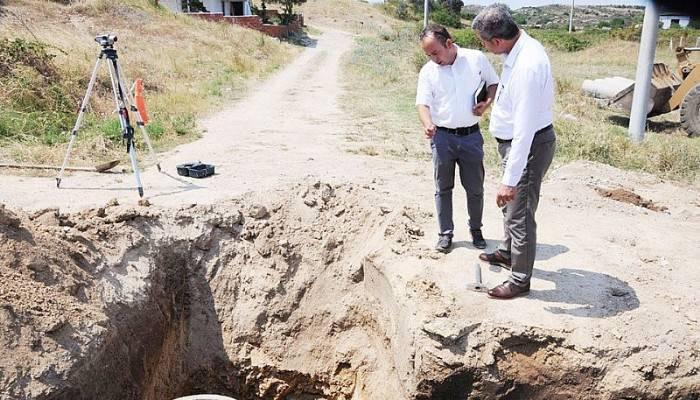 """""""Karabiga Belediye Başkanı Ahmet Elbi Çalışmaları Yerinde İnceledi"""""""
