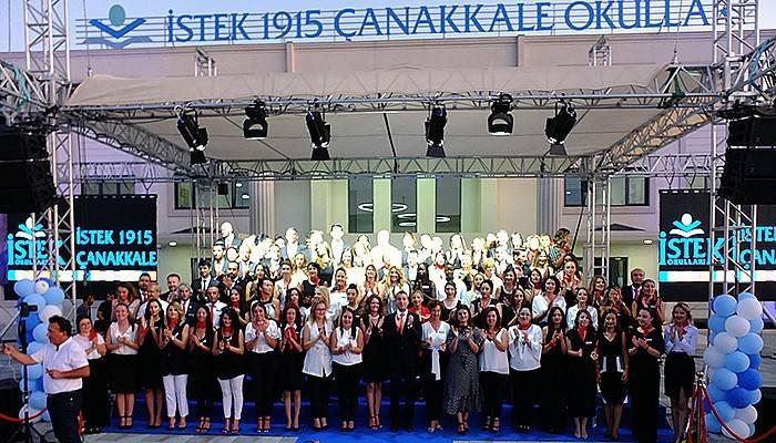 İstek 1915 Çanakkale Okulları açılışı gerçekleşti (VİDEO)