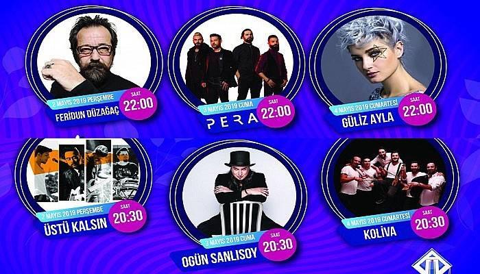 ÇOMÜ Gençlik Festivali'ne ünlü yağacak