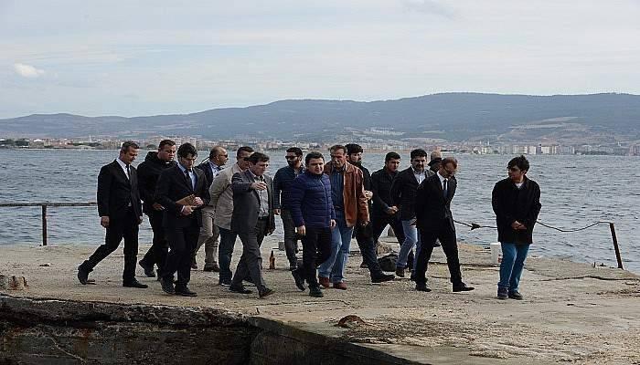 Çanakkale Valisi Orhan Tavlı, tarihi alanda incelemelerde bulundu