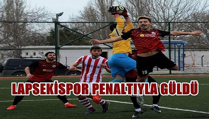 Lapsekispor Penaltıyla Güldü