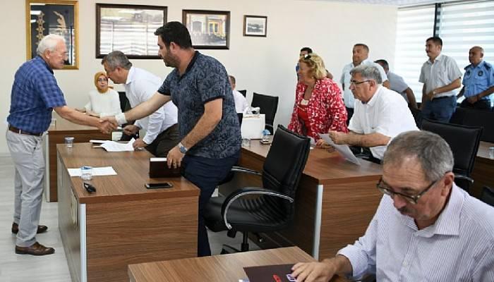Lapseki belediyesi Eylül ayı meclis toplantısı yapıldı
