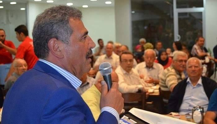 BAŞBAKAN ESKİ YARDIMCISI ERSÜMER EZİNE'DE İFTAR VERDİ