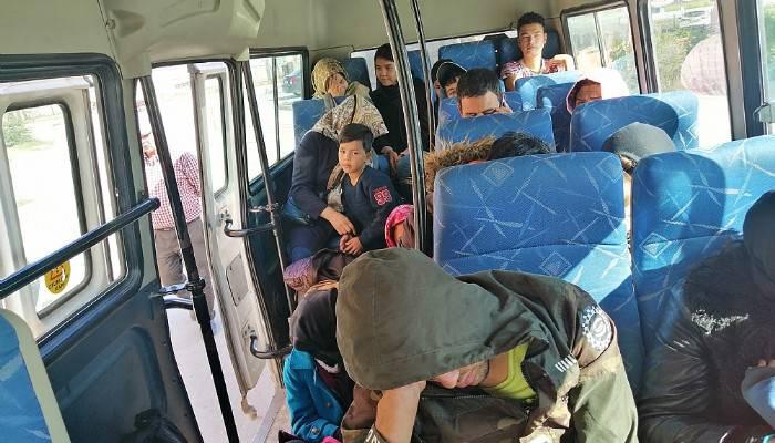 Çanakkale'de 83 mülteci yakalandı