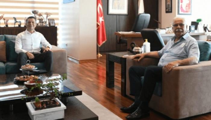 Garanti Bankası Şube Müdürü Tercan'dan Başkan Gökhan'a ziyaret