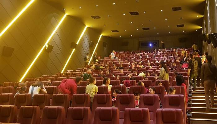 'Keşif Çanakkale' filmini izlediler'