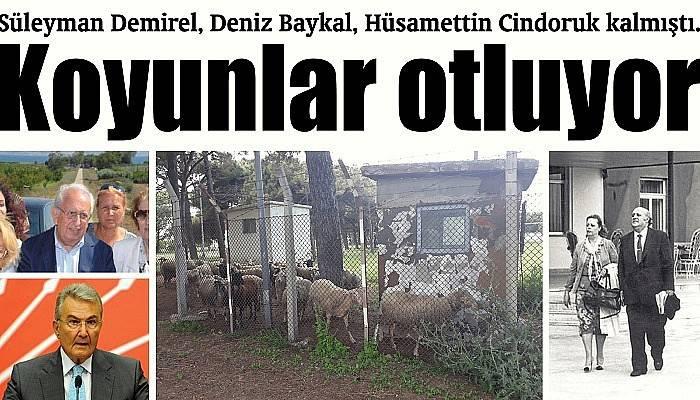 Süleyman Demirel, Deniz Baykal, Hüsamettin Cindoruk kalmıştı