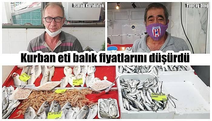 Kurban eti balık fiyatlarını düşürdü