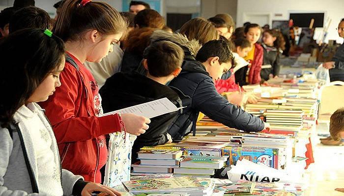 Çan Belediyesi 3. kitap fuarı sona erdi