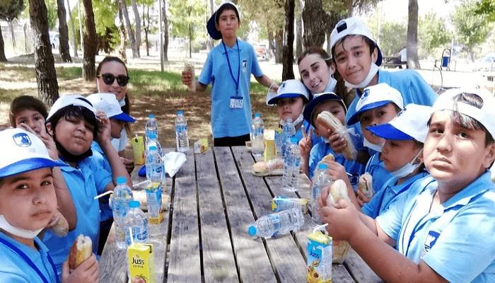 Sosyal Yaşam Evlerinde Göçmen Çocuklar İçin Yaz Okulu