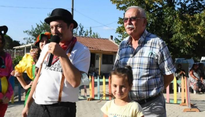 Serhat Köyü çocuklarının şenlik keyfi