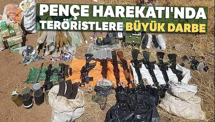 Pençe Harekatı'nda teröristlere büyük darbe