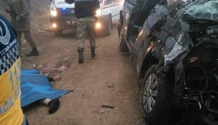 Trabzon'da trafik kazası 2 ölü, 2 yaralı